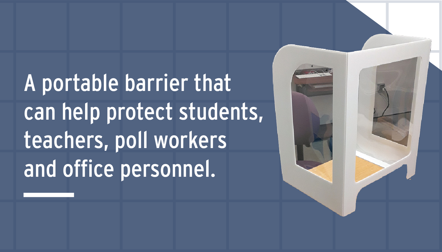 M-Line Creates SAFE-BOOTH Protective Dividers